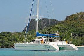 Turquoise, Marquise 56'  Fountaine Pajot - 17m50